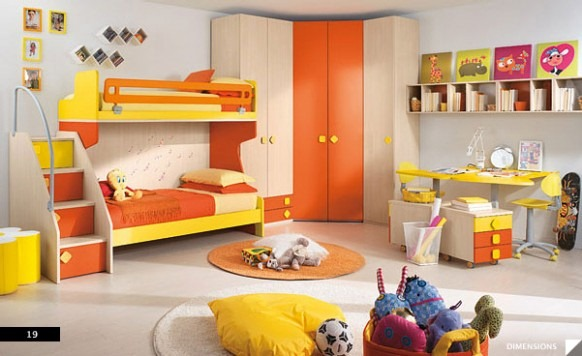 Citris-flavored-Bedroom-582x356