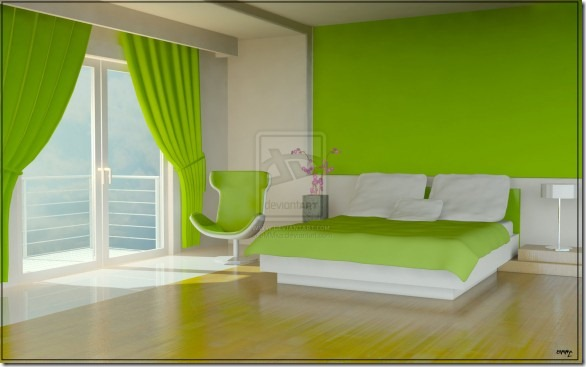 Green-Bedroom-by-eMMka-582x363