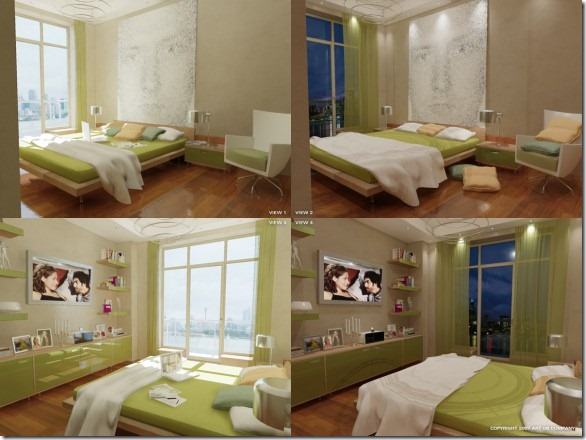 Green-Bedroom-by-GorgeB-582x436