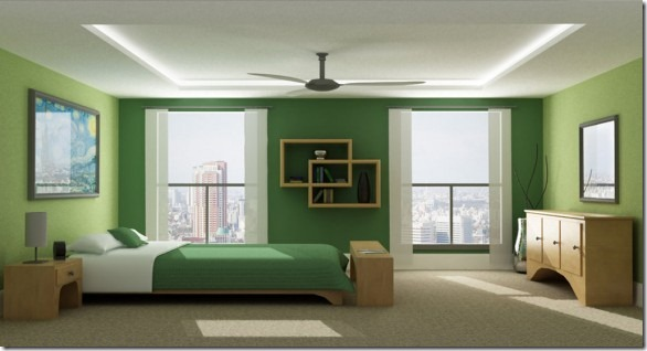 Monochromatic-Green-Bedroom_by_Jrs2189-582x314