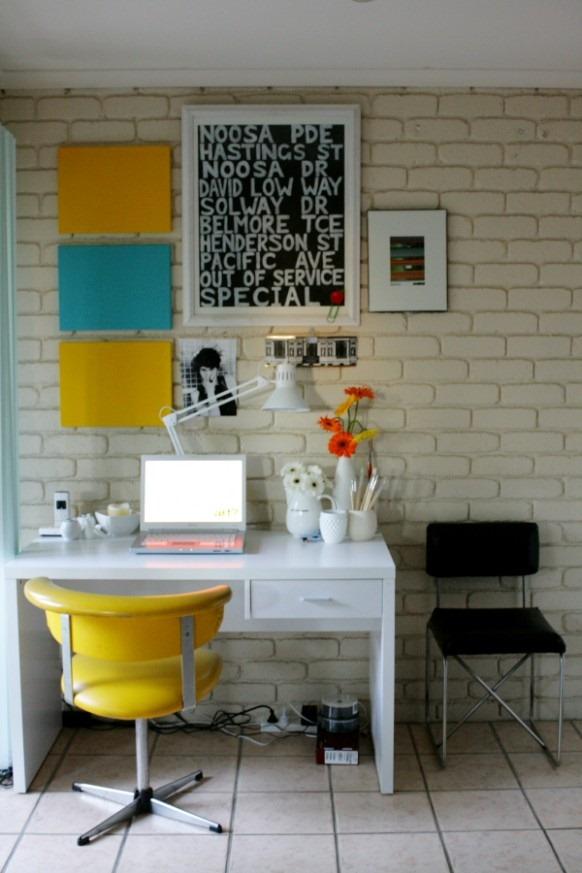 framed-brick-wall-office-582x873